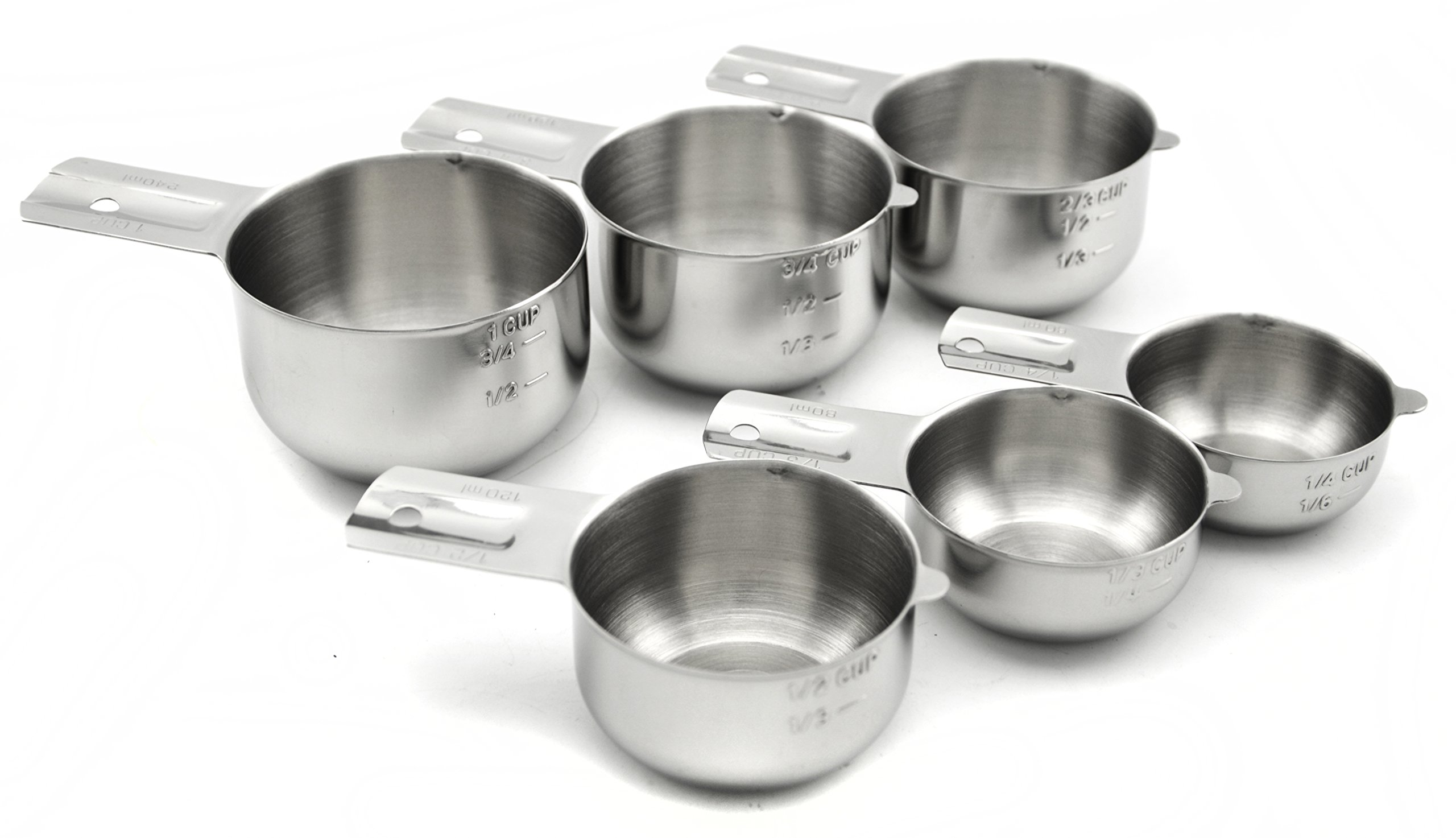 supreme measuring cups and spoons best stainless steel kitchen accessories set 747180222586 ebay. Black Bedroom Furniture Sets. Home Design Ideas