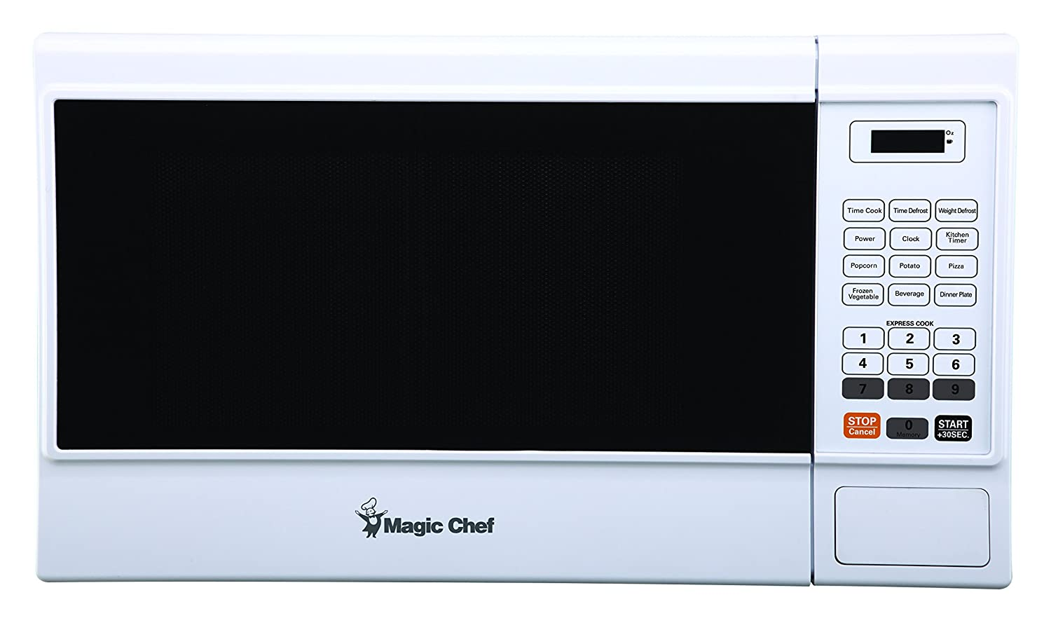 Magic Chef Cu. Ft. 1000W Countertop Oven MCM1310W 1.3 cu.ft. Microwave White