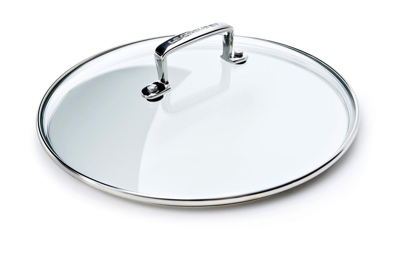 Le Creuset HA4000-30 30cm Glass Lid, Black/Silver 962008300
