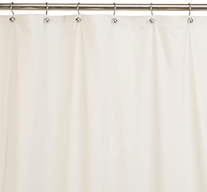 Carnation Home Fashions Jumbo Long Vinyl Shower Curtain Liner, 72 Inch By 96