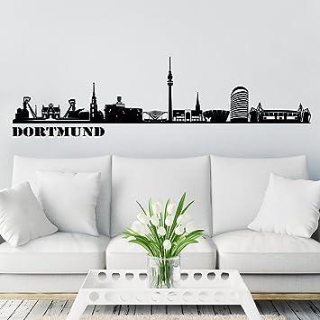 Wandtattoo Rostock wandkings skyline wandaufkleber wandtattoo 125 x 30 cm in schwarz