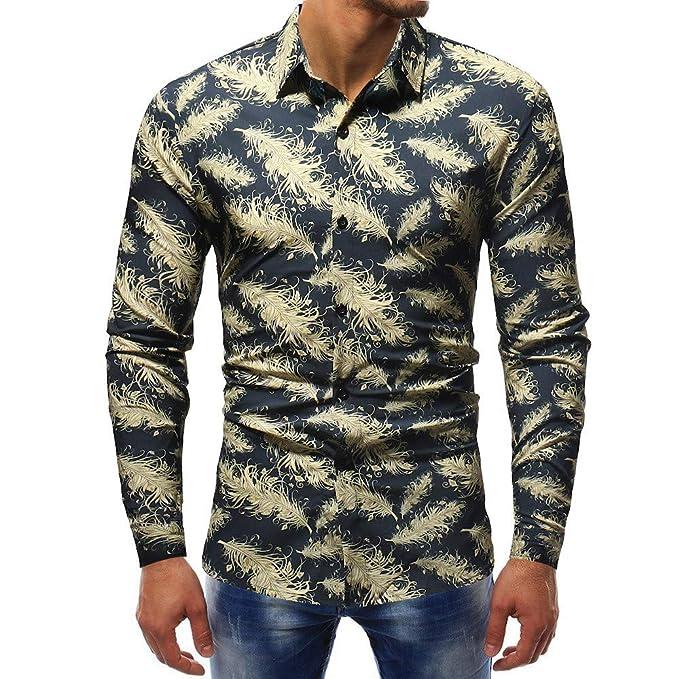 Polo, Camisetas, Blusa,BaZhaHei, Negro Camisetas de Mangas largas Estampadas Hombre G