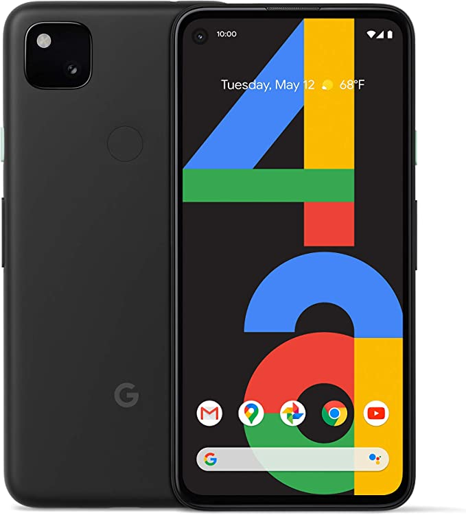 Amazon.com: Google Pixel 4a - New Unlocked Android Smartphone - 128 GB of Storage - Up to 24 Hour Battery - Just Black