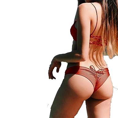Amazon.com: satisfacer la belleza bikini 2018 Scrunch Butt ...