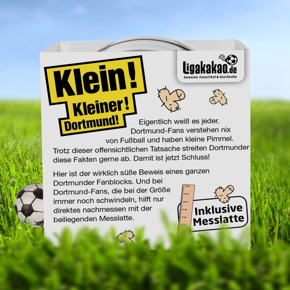 Schalke Bayern /& alle Fu/ßball-Fans Aufgepasst Gemein leckere Fruchtgummis f/ür Dortmund-Fans so sch/ön kann Fu/ßball Sein inklusive Messlatte zum Lachen /& Vergleichen Dortmunder Kleine Pimmel