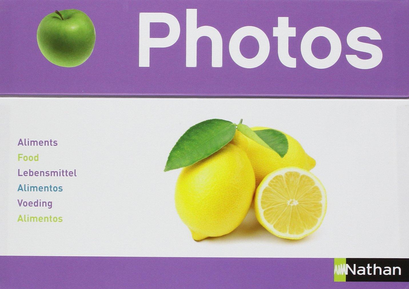 Nathan 342350 Photos Box-Food, Multi Color