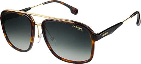 Carrera 133/S 9K 2IK Gafas de sol, Dorado (HAVANA GOLD/GREEN SHADED), 57 Unisex-Adulto