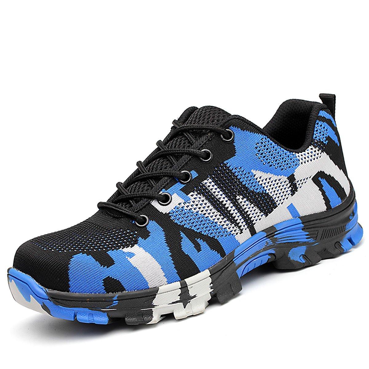 CHNHIRA Chaussures de Sécurité Homme Embout Acier Protection Confortable Léger Respirante Unisexes...
