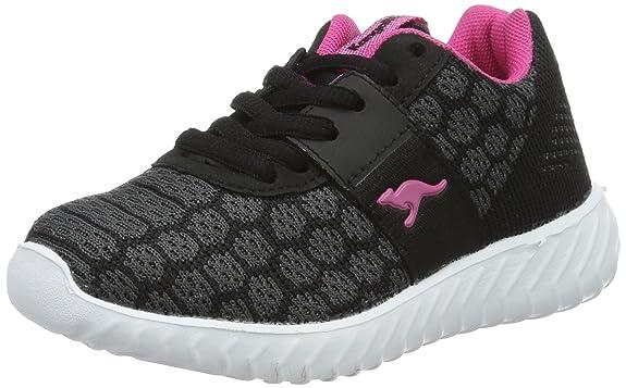 KangaROOSKaboo 6000 - Zapatillas Niñas, Color Negro, Talla 29 EU