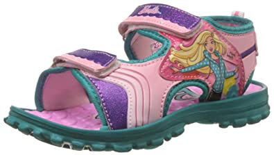 Barbie Girl's Fashion Sandals Girls' Fashion Sandals at amazon