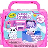 Crayola Scribble Scrubbie Pets, Beauty Salon Playset with Toy Pets, Gift for Kids