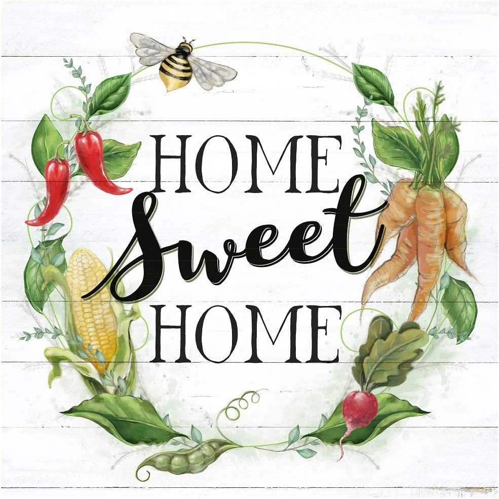 Young's Wood Home Sweet Wall Plaque