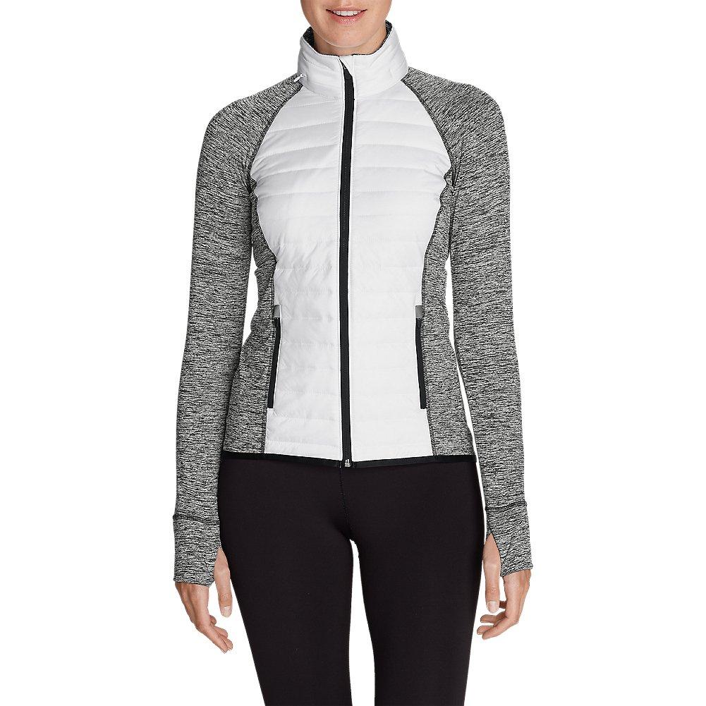 Eddie Bauer Women's IgniteLite Hybrid Jacket, White Regular L