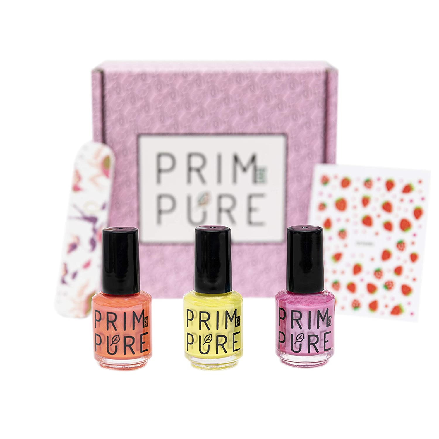 Nail Polish for Children, Kid Safe Fashion Solution, Peel-Off, Non-Toxic Formula