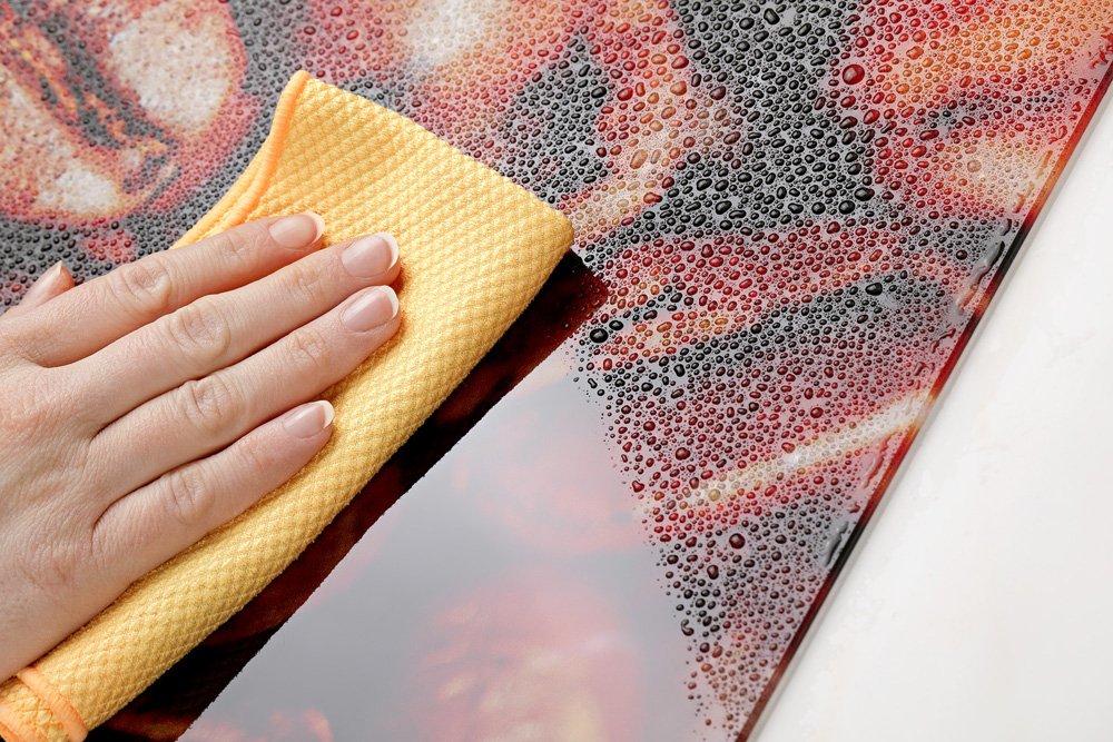 Küchen Spritzschutz Herd Antarktis 200152_100x60_SP Küchenrückwand Glas Winter 100x60cm GRAZDesign Rückwand Küche EIS