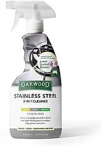 OAKWOOD OP247 Stainless Steel 3-in-1 Cleaner 500ml