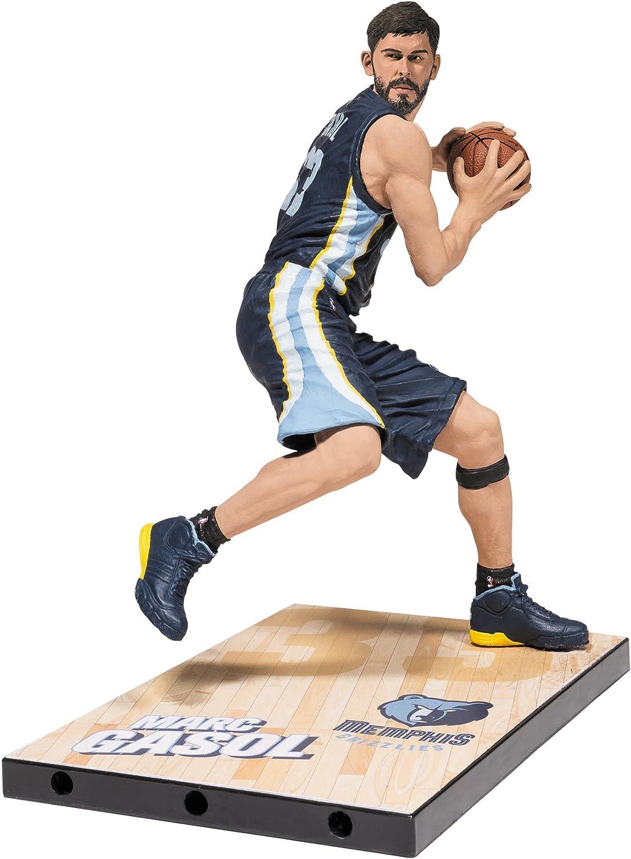 Figura McFarlane NBA Series 28 de Marc Gasol de los Memphis Grizzlies: Amazon.es: Juguetes y juegos
