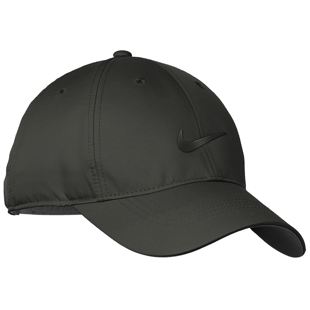 Nike Men s Golf Dri-Fit Swoosh Anthracite Front Cap (Black)  Amazon.in   Clothing   Accessories 89e85e4c8d43