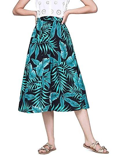 Falda Pepe Jeans Midi Mimi Tropical: Amazon.es: Ropa y accesorios