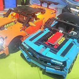Amazon Co Jp レゴ Lego テクニック シボレー コルベット Zr1 493 知育玩具 ブロック おもちゃ 男の子 車 おもちゃ
