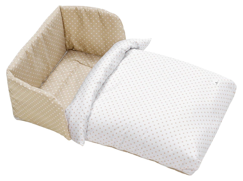 Alondra 658-202 - Saco minicuna de colecho bebé y colecho cama, color beige: Amazon.es: Bebé