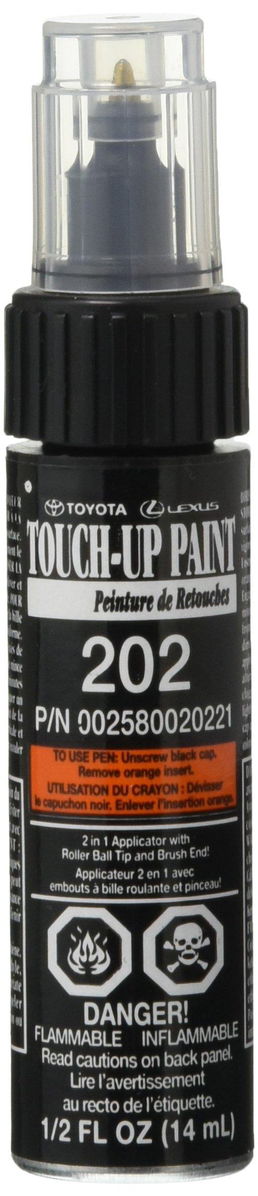 Genuine Toyota 00258-00202-21 Black Onyx Touch-Up Paint Pen (1/2 fl oz, 14 ml)