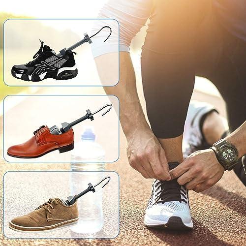 Eachway Shoe Stretcher, Shoe Trees Adjustable Length & Width for Men (for Men's Size Us 10-13.5)