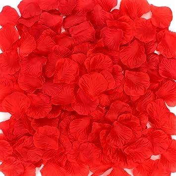 Coceca 1000 Stück Rosenblüten, Rosenblätter, Blumenblätter Aus Seide,  Kunstblumen Für Hochzeit Feier Deko