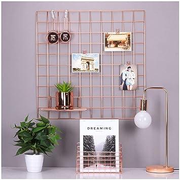 Amazon.com: Rose Gold Photo Hanging Display, fotografía ...