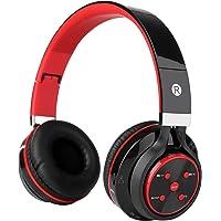 KAYSN Over-Ear Wireless Bluetooth Headphones (Red)