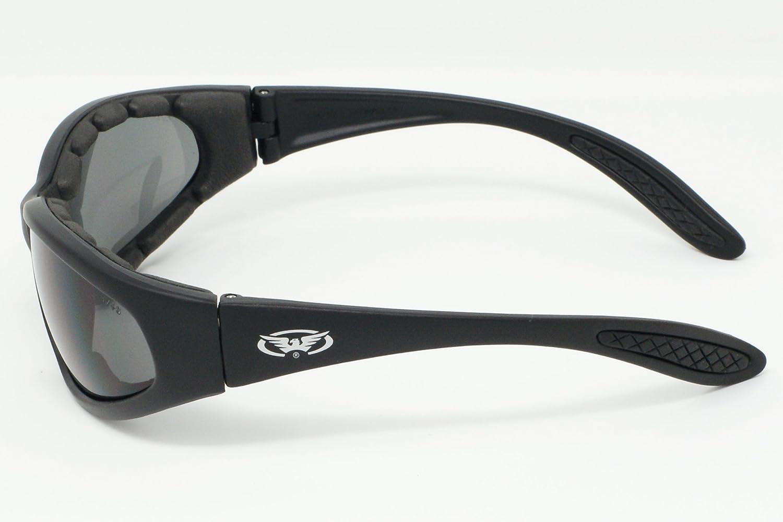 Motorrad Rundum Sonnenbrille mit EVA-Schaum Futter und bruchsicher anti Beschlag Gl/äser mit kostenlosem Mikrofaser Aufbewahrungstasche.