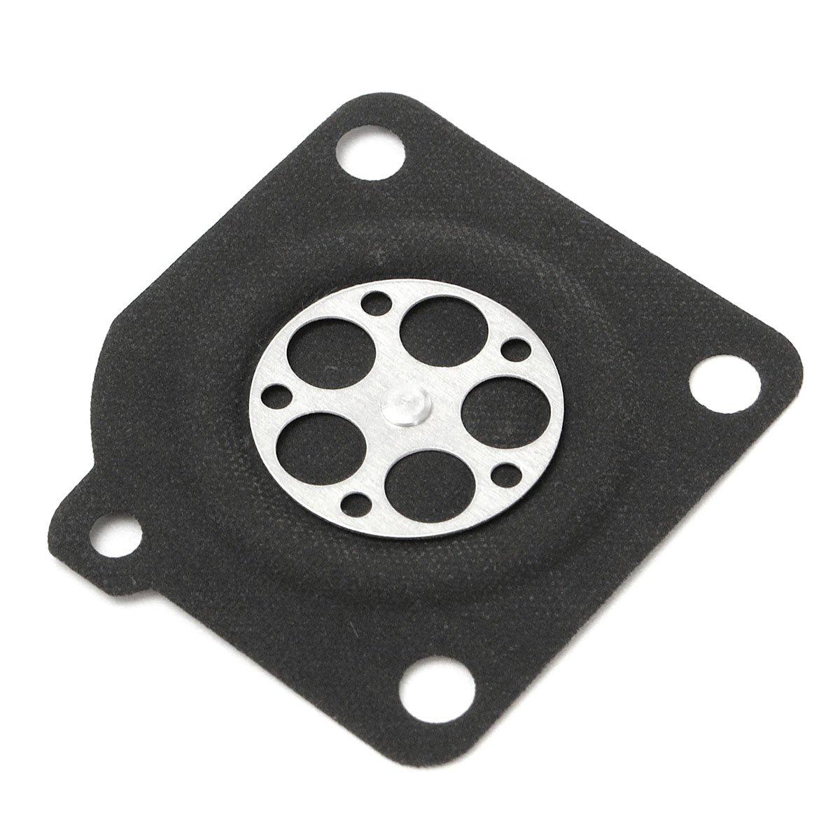 ILS 10 pieces Carburetor Gasket Metering Diaphragm Rebuilt Kit For ZAMA C1U A015010
