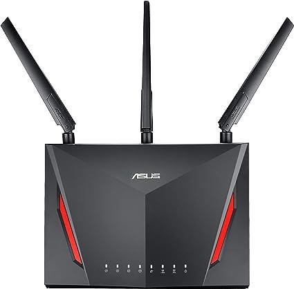 RT-AC86U AC2900 Dual Band Gigabit WiFi Gaming Router with MU-MIMO