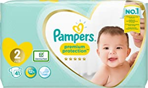 Pampers Premium Protection 81687016 Nappies White