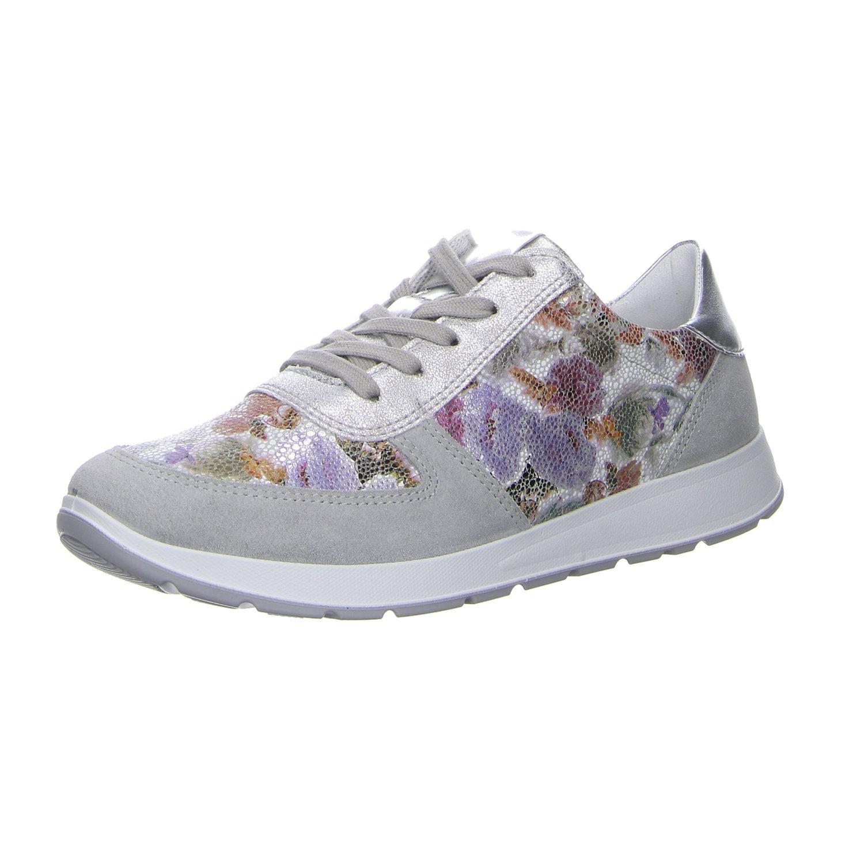 Jenny 22-59502-06 - Zapatos de cordones para mujer 40 EU|STAHL,WEI/SIL