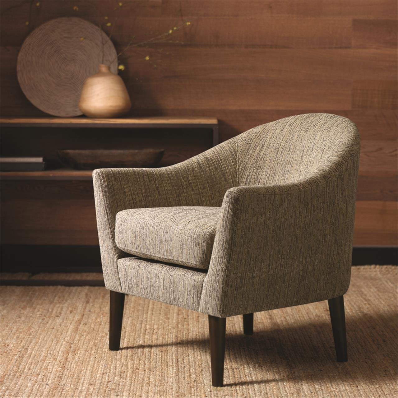 Amazon.com: Madison Park Grayson Chair, 31.625 X 31 X 31.75, Grey: Kitchen  U0026 Dining