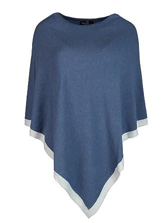 2cdfe76cb4a5 Cashmere Dreams Cashmere Echarpe de poncho pour femme – XXL avec manches –  Pull en tricot