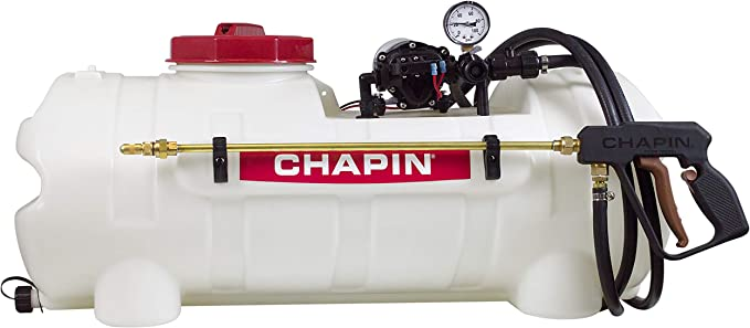Chapin 97300 15-Gallon 12v Deluxe Dripless EZ mount ATV Spot Sprayer – Best Overall