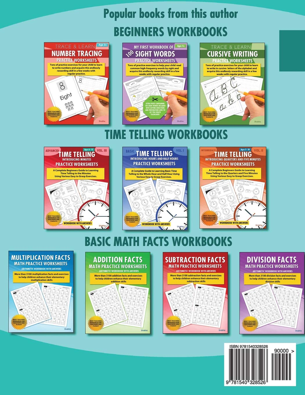 Amazon.com: Trace & Learn Letters Alphabet Tracing Workbook Practice ...