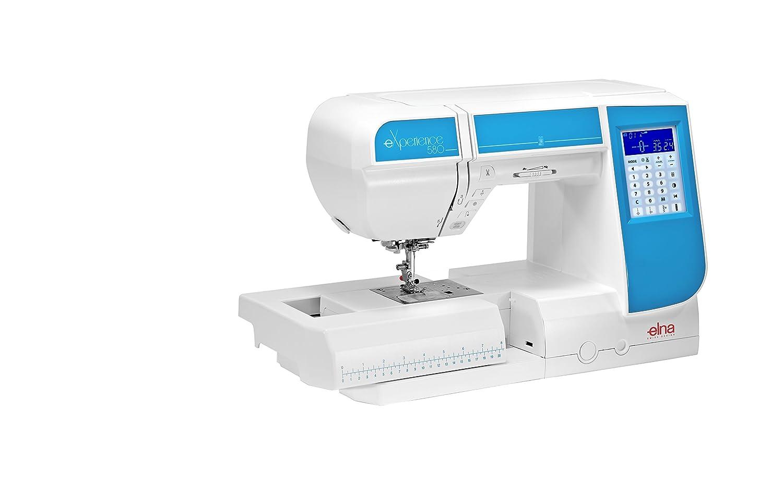 Máquina de coser Elna Experience 580 con 21 cm pulsera rendimiento y ...