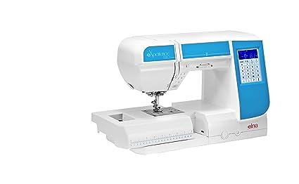 Máquina de coser Elna Experience 580 con 21 cm pulsera rendimiento y programas de punto de