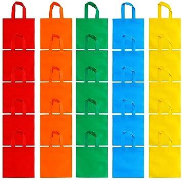 Aneco 25 Pack DE 10 x 10 Pulgadas Bolsas de Tela no Tejidas ...