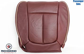 Compatible with 2006 Ford F-150 F150 King Ranch Crew-Cab Richmond Auto Upholstery King Ranch Driver Side Bottom Replacement Leather Seat Cover