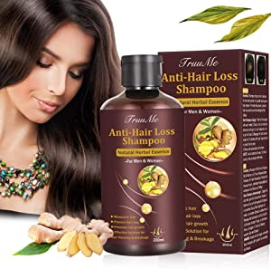 Hair Thickening Shampoo, Shampoo for Hair Growth, Hair Loss Shampoo, Hair Loss Treatment, Natural & Organic Herb Shampoo for Hair Regrowth Faster/Prevent Hair Loss