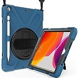 ProCase iPad 10.2 Case 2020 8th / 2019 7th Gen iPad Case, Rugged Heavy Duty Shockproof 360 Degree Rotatable Kickstand…
