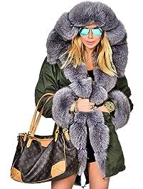 Womens Fur and Faux Fur Jackets | Amazon.com