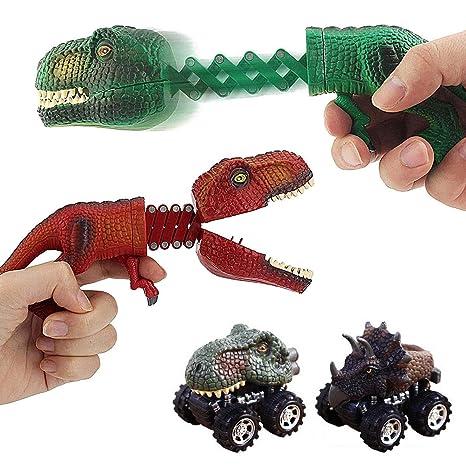 Hamkaw - Juego de Figuras de Dinosaurio de Juguete para ...
