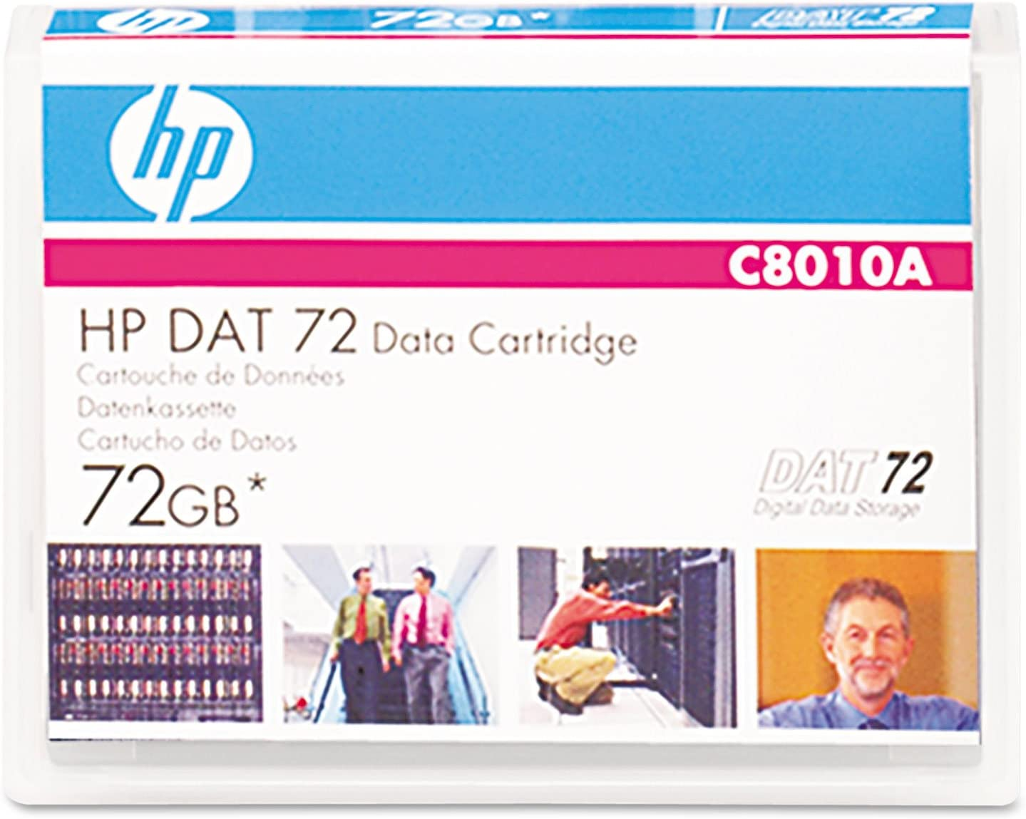 HP C8010A DAT 40 DAT 72 DDS-3 DDS-4 DDS-5 Data Cartridge in Retail Packaging