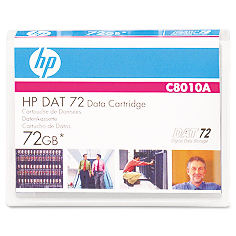 HEWC8010A - 1/8quot; DAT 72 Cartridge HP C8010A - EA