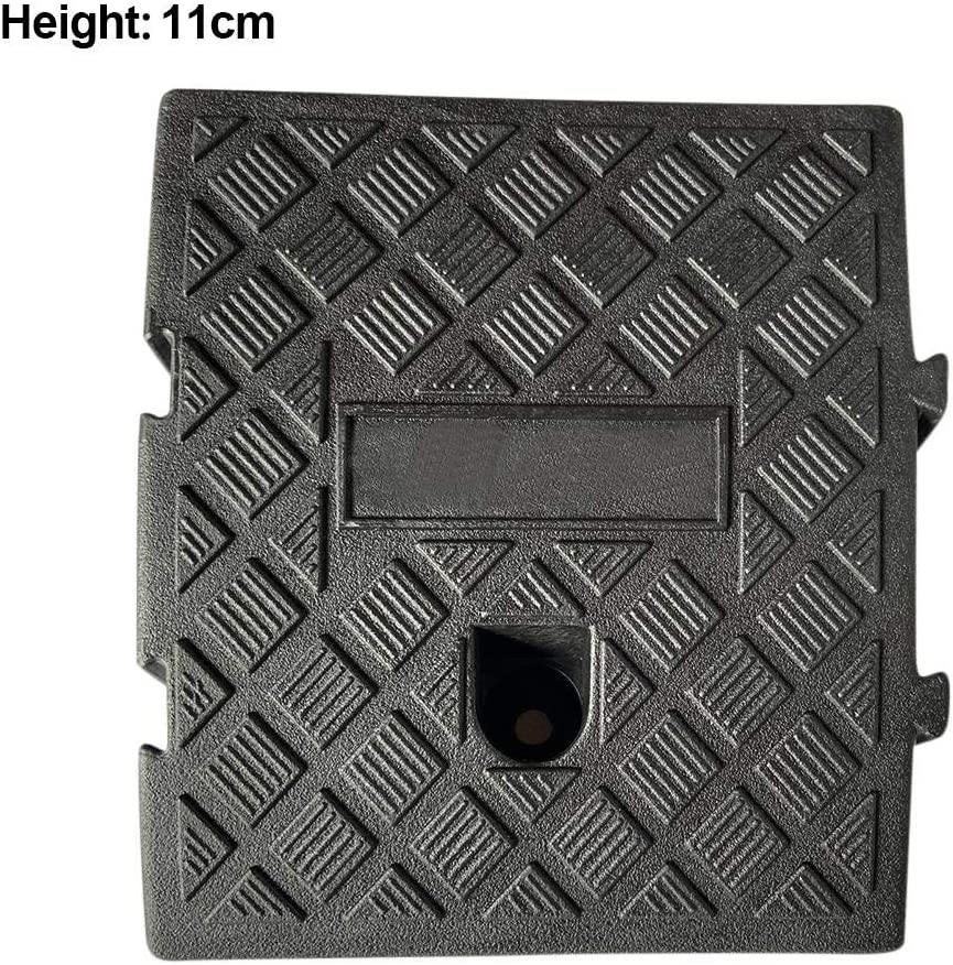 MODGS Portable Curb Ramp Portable Lightweight Curb Ramps Heavy Duty Plastic Threshold Ramp Kit for Car Bike Motorcycle Trailer Truck